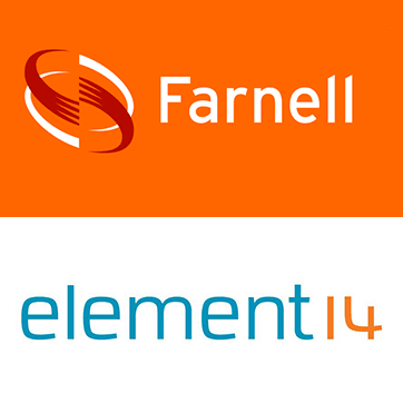 Farnell and Element 14 logos